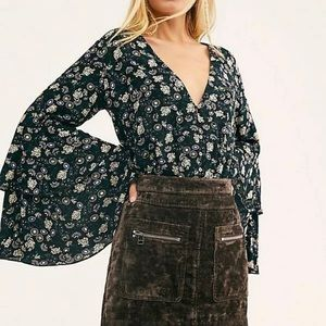 NWT Free People intimately She's Dainty Bodysuit